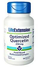 3X $13.25 Life Extension Optimized Quercetin Bioflavinoid Cholesterol Allergies