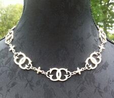 Collier GUESS - Métal argenté - Necklace - Signed - Silver Métal - Vintage