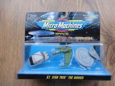 Star Trek Micro Machines set XI Shuttle, USS Farragut, HMS Bounty (movable wing)