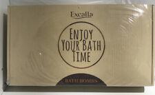 EXCALLA BATH BOMBS ENJOY YOUR BATH TIME