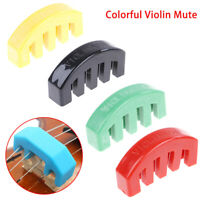 Rubber Violin Mute Durable Rubber Practice Mute Silencer Volume Control Fad