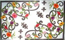 Tatouage Wrought Iron Corners with Daisy Vines- Dry rub Transfer