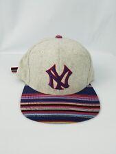 New York Yankees American Needle (RN#00476) wool Strapback Hat multi color/Gray.