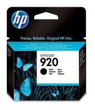 3x HP 920 negro original Black OfficeJet 6000 6500 7000 7500 cd971ae OVP