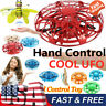 360° Mini Drone Smart UFO Aircraft for Kids Flying Toys RC Hand Control Gift- US