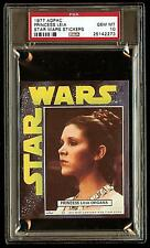 PRINCESS LEIA 1977 Star Wars ADPAC General Mills Cereal Sticker  PSA 10 POP 1