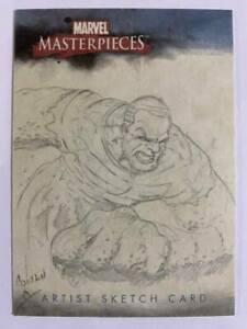 2007 Skybox Marvel Masterpieces Artist Art Sketch Hand-Drawn by unknown 1/1