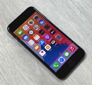 Apple iPhone 7 (A1778), 32GB, UNLOCKED, Black, good -S434