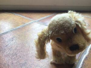 VINTAGE STEIFF SMALL DOG NEEDS HOME!