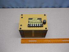 Acopian 200VDC Unregulated Power Supply Model U200Y20-230 3/10A Fuse Rating 250V