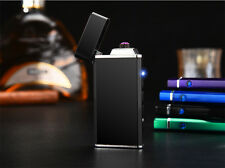 The Inferno Colored Dual Arc Plasma Lighter - No Gas, Windproof, Rechargeable