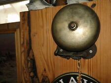 antique Bronze Boxing  Ring Side Bell 7-1/2""