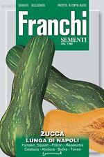Franchi Seeds of Italy - Pumpkin - Lunga Cilindrica Napoletana - Seeds *