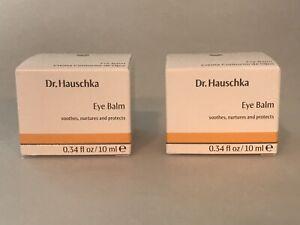 2 Dr. Hauschka Eye Balms .34 oz each  2 EYE BALMS Expires 9/2022