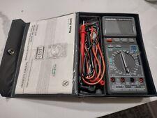 Radio Shack Digital Multimeter 22 168 With Manual