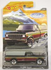 2018 Hot Wheels '79 Brown Ford Pickup Truck Antique Classic 7/8