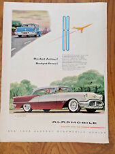 1956 Oldsmobile 88 Holiday Coupe Ad  Rocket Action