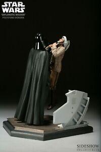 Darth Vader Choking Captain Antilles Diorama Sideshow Statue NEW  #496/1250