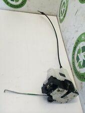 FIAT PANDA DRIVER FRONT DOOR MECHANISM DOOR LOCK FREE P&P 2003-2011