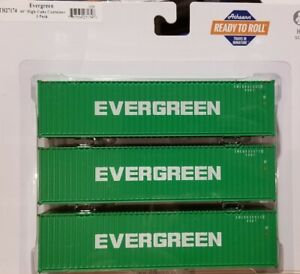 ATH27174 Athearn Evergreen 40' Containers
