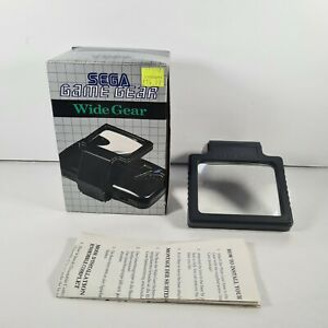 Official Sega Game Gear Wide Gear Boxed Accessory