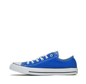 Converse Chuck Taylor All Star OX Low Unisex Trainers Shoes Plimsolls Blue