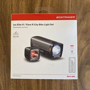 Bontrager Ion Elite R/Flare R City Bike Light Set Black 553814