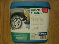 TRUCK/SUV SNOW TIRE CHAINS PEERLESS #0222830, LT265/75-17, LT265/60-20,275/65-17