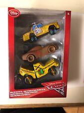 "Disney Store Pixar ""CARS 3"": TACO, T-BONE, CHESTER WHIPPLEFILTER Lot 1:43 Scale"