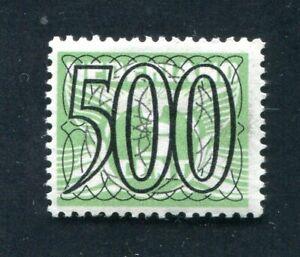 Nederland, nvph 373 500 ct Guilloche/Traliezegel, ongebruikt MH ;