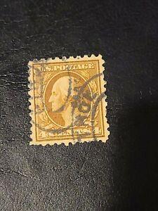 US 1916 SC# 465 4c BROWN GEORGE WASHINGTON Used Great Find  - # 1628