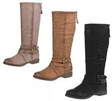 Markenlose Damenstiefel & -Stiefeletten im Boots-Stil aus Synthetik für Mittlerer Absatz (3-5 cm)