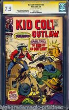 KID COLT OUTLAW #138 CGC 7.5 SS STAN LEE SINGLE HIGHEST GRADED CGC #1283485013