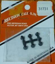Precision Scale HO #31731 Bells 4.7mm (6 Bells) Plastic