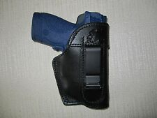 S&W-M&P SHIELD WITH CT LASER 9MM & 40 CAL.,IWB  R HAND HOLSTER, WITH BODY SHIELD