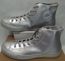 New Mens 12 Converse CTAS OX Triple Silver Rubber Synthetic Shoes $80 157630C
