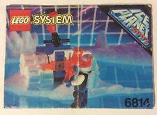 LEGO 6814 Notice de Montage Instruction Booklet 1993 Ice Planet 2002