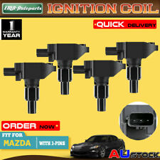 ignition coils, modules \u0026 pickups for mazda rx 8 for sale ebay4x for mazda rx 8 rx8 se3p4 cyl 1 3l 13b 2003 2012 n3h1 18 100 ignition coils (fits mazda rx 8)