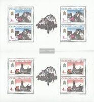 Tschechoslowakei 3022Klb-3023Klb Kleinbogen (kompl.Ausg.) gestempelt 1989 Preßbu