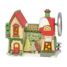 Department 56 North Pole Village a Stitch in Yule Time Building Figurine 6003111