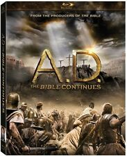 A.D. The Bible Continues (2015, Blu-ray NUEVO)4 DISC SET (REGION A)