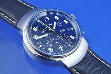 VINTAGE Mercedes Automatico Cronografo NOS Valjoux 7750 NUOVO VECCHIO STOCK NN