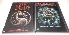 Mortal Kombat & Mortal Kombat Annihilation (DVD, 2-Discs) WS/FS