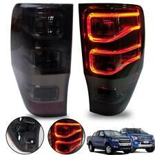 Fit Ford Ranger T6 Led Pickup Xlt Wildtrak Head Lamp light Tail Lamp Red Smoke