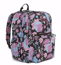 VERA BRADLEY Lighten Up Grande Backpack ALPINE FLORAL Durable Nylon LARGE $98