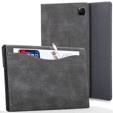 Apple iPad Pro 12.9 2020 Case Cover with Document Pocket & Sleep Wake - Black