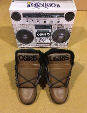 Osiris NYC 83 Shearling Size 5 DC Brown Black Skate Shoes Sneakers $85 Box Price
