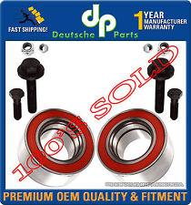 VW PASSAT AUDI A4 90 S4 Wheel Bearing Bearings PAIR 4B0 498 625 / 8D0 598 625A