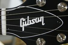 FLYING V TRUSS ROD COVER name plate for Gibson guitar (Black / White)