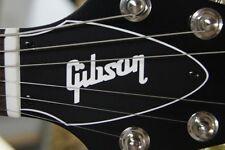 FLYING V TRUSS ROD COVER name plate for Gibson guitar (Black / White)